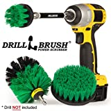 Drill Brush - Household Cleaners - Kitchen - Cleaning Supplies - Scrub Brush - Oven - Stove Top...