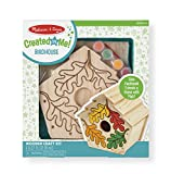Melissa & Doug Created by Me! Birdhouse Wooden Craft Kit