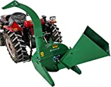 4'x10' PTO Tractor Wood Chipper Shredder BX42S GREEN 540-1000 RPM