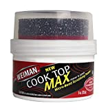 Weiman Cooktop Cleaner Max - 9 Ounce - Easily Remove Burned-On Food, Grease and Watermarks, Leaving...