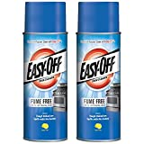 Easy-Off Fume Free Oven Cleaner Spray, Lemon, 14.5 oz (Pack of 2)