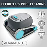 Dolphin Advantage Automatic Robotic Swimming Pool Cleaner with Large Capacity Top Load Filter Basket...