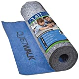 MP Global Products QuietWalk Laminate Flooring Underlayment with Attached Vapor Barrier Offering...