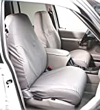 Covercraft SS2459PCGY SeatSaver Front Row Custom Fit Seat Cover for Select Ram 1500 Models -...