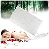 HANY 3 in 1Latex Bamboo Pillows for Sleeping Adjustable Loft & Neck Pain Relief Shredded...