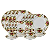 Royal Albert Old Country Roses 20-Piece Dinnerware Set, Service for 4 - IOLCOR00840