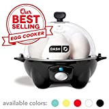 Dash Rapid Egg Cooker: 6 Egg Capacity Electric Egg Cooker for Hard Boiled Eggs, Poached Eggs,...