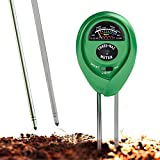 Soil pH Meter, 3-in-1 Soil Test Kit For Moisture, Light & pH, A Must Have For Home And Garden, Lawn,...