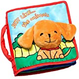 Cloth Book Baby Gift, Interactive Soft Books for Newborn Babies, 1 Year Old Infant, Toddler,...