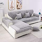 TEWENE Couch Cover, Sofa Cover Couch Covers Sectional Couch Covers Easy-Installation Sofa Slipcover...