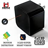 Hidden Wall Camera - USB Charger Camera - Hidden Security Cameras - Concealed Electronic - Night...
