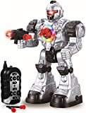 Play22 Remote Control Robot Toy - Robots for Kids Superb Fun Toy - Toy Robot Shoots Missiles Walks...