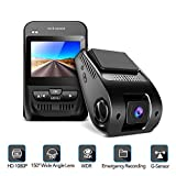 Dash Cam- 1080P FHD Car Camera 2.3' LCD Screen 150°Wide-Angle Car DVR with Sony Image Sensor, WDR,...