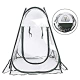 Portable Pop-up Greenhouse Gardening Plant Cover Shelter Small Foldable PVC Protected Plant House...