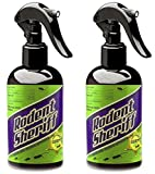 RODENT SHERIFF Pest Control Spray - Ultra-Pure Mint Spray - Repels Mice, Raccoons, Ants, and More -...