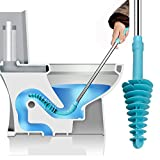 Samshow Toilet Plunger, Toilet Dredge Designed for Siphon-Type, Power Cleaned Toilet Pipe, Patented,...