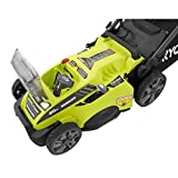 Ryobi RY40180 40V Brushless Lithium-Ion Cordless Electric Mower Kit, with 5.0Ah Battery, 19.88' x...