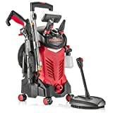 Powerhouse International - Electric High Power- Pressure Washer - 3000 PSI 2.2 GPM - Power Washer -...