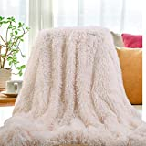 SatisInside 2019 USA Luxurious Plush Faux Fur Throws Bed Blankets, Extra Soft Cozy Warm, Fluffy...