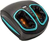 Shiatsu Foot Massager Machine with Heat - Electric Deep Kneading Massage & Air Compression - For...