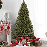 Best Choice Products 9ft Premium Spruce Hinged Artificial Christmas Tree w/Easy Assembly, Foldable...