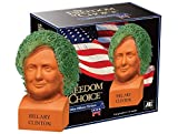 Chia Pet Hillary Clinton, Decorative Pottery Planter, Freedom of Choice, Easy To Do and Fun To Grow,...