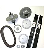 Murray 42' Deck Rebuild Kit Includes Spindle/ Blades / Belt / Pulleys / Adapters