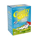 Country Save Biodegradable Non Toxic Fragrance Free Laundry Detergent Powder for Cold and Warm...