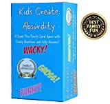 Kids Create Absurdity Family Card Game for Kids with Funny Questions and Hilarious Answers Fun for...