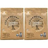 Grab Green Stoneworks Laundry Detergent Pods, Powered by Naturally-Derived Plant & Mineral-Based...