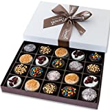 Barnett's Holiday Gift Basket - Elegant Chocolate Covered Sandwich Cookies Gift Box - Unique Gourmet...