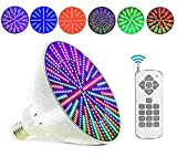 12V 35W AC/DC Color Changing Swimming Pool Lights LED Bulb (Switch Control + Remote Control Type)...