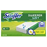Swiffer Sweeper Wet Mop Refills for Floor Mopping and Cleaning, All Purpose Floor Cleaning Product,...