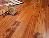 Tigerwood Clear Prefinished Solid Wood Flooring 5' x 3/4' Samples at Discount Prices by Hurst...