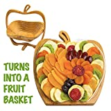 Dried Fruit Gift Basket - Healthy Gourmet Snack Box - Holiday Food Tray - Variety Snacks - Great for...