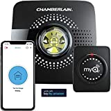 MyQ Smart Garage Door Opener Chamberlain MYQ-G0301 - Wireless & Wi-Fi enabled Garage Hub with...