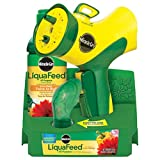 Miracle-Gro LiquaFeed Advance Starter Kit with Garden Feeder, 16 oz. Bottle of LiquaFeed All Purpose...