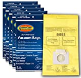 EnviroCare Replacement Micro Filtration Vacuum Bags to fit Kenmore Canister Type C/Q. 5055, 50557...