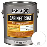 INSL-X CC560109A-01 Cabinet Coat Enamel, Semi-Gloss Paint 1 Gallon White