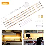 Wobane Under Cabinet Lighting Kit,Flexible LED Strip Lights Bar,Under Counter Lights for...