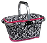 DII Damask Insulated Casserole Carrier, 10x16x3', Perfect for Holidays, BBQ's, Potlucks, Parties, To...
