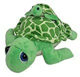 Wishpets Stuffed Seal 12' Turtle with Baby Attached Plush Soft Animal| for Boys, Girls, Adults