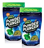 EcoClean Solutions Inc GGPP-2 POWDER PLUNGER Toilet Drain Clog Remover, White