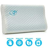 Save&Soft Gel Memory Foam Pillow - Reversible Orthopedic Sleeping Pillow Neck Pain - Cervical...