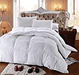 Royal Hotel's 300 Thread Count King Size Goose Down Alternative Comforter, Overfilled Comforter,...