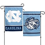 Wincraft North Carolina Tar Heels Garden Flag, 12.5 Inches by 18 Inches, 2-Sided