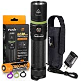 Fenix UC30 New Edition 1000 Lumens USB Rechargeable LED Flashlight with Fenix Charging Cable,...