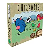 Buffalo Games Chickapig Board Game - A Strategic Board Game Where Chicken-Pig Hybrids Attempt to...