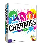 Charades Party Game - Speed Charades Board Game - Fast-paced Family Games - Perfect for Groups and...