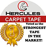 Carpet Tape Double Sided, 35 yd. X 2 in. Military Grade Strength, Voted by Professionals as The...
